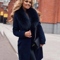 Χειμερινό παλτό με γούνα