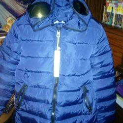 Опигинальная куртка с очками