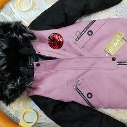 Jacket for winter girl