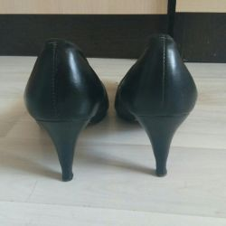Genuine leather shoes as a gift