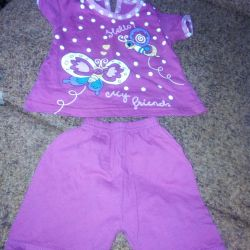 Suit for girls