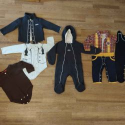 A package of clothes for the boy of 80-86 solutions