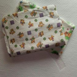 Byazevye diaper, 2 pcs. for all 100!