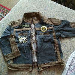 Denim jacket-jacket-windbreaker