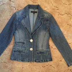 Пиджак джинсовый новый, размер S