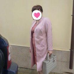 Dress + coat 52 sizes