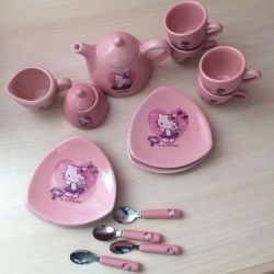 Ware for dolls Hello Kitty