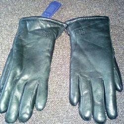 Yeni kış deri eldiven
