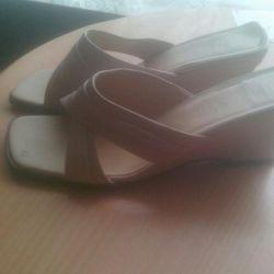 Slippers three pairs