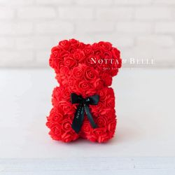 Teddy bear of roses