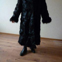 Fur natural fur. Nutria