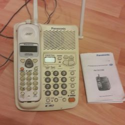 Telephone with an answering machine