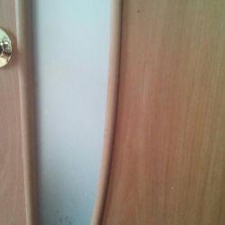 Πόρτες, αν το φύλλο πόρτας είναι 700.