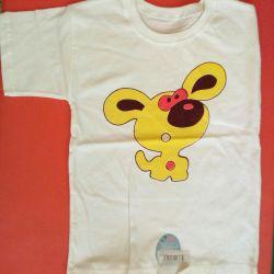 New T-shirt size 122