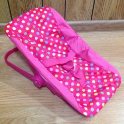 Rocking chair for Baby Born dolls