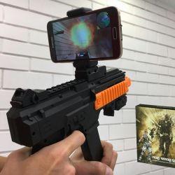 🔥 20 VR oyunları Bluetooth Otomatik AR Oyun Tabancası