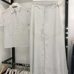 Chanel kostüm bezelye beyaz