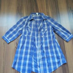 Tunic, extended new shirt