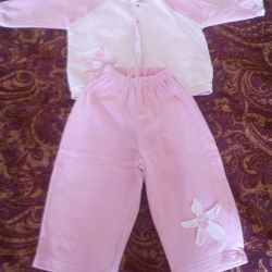 Suit for girls 2-3 years