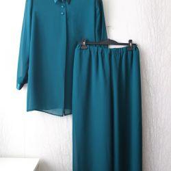 Κοστούμι L 48 με παντελόνι για τις νέες