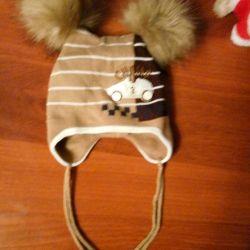 Pălărie de iarnă pentru un băiat