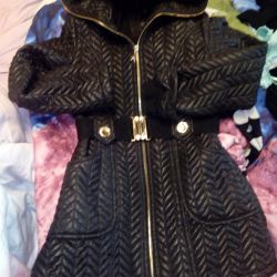 Warm coated quilted coat130