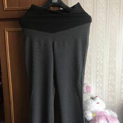 Hamileler için pantolon, yüksekliği 180 cm.