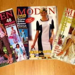 Sewing magazines Diana Moden