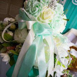 Счастливый свадебный букет дублер
