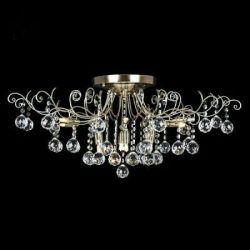 Ceiling chandelier Eurosvet 10042/12 antique bronze