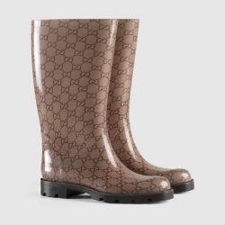 Gucci original Italy stylish rubber boots