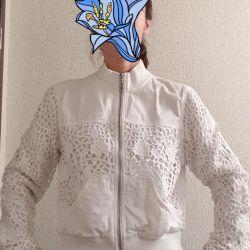 Эксклюзивная джинсовая куртка