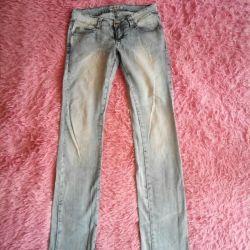 Jeans lumina de vară