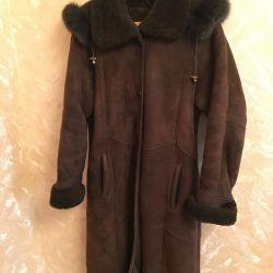 Sheepskin coat 44-48 size