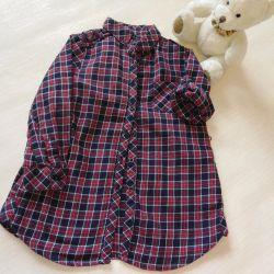 Рубашка туника Zara р. 104