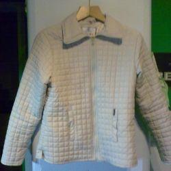 The jacket is light beige. 44-46 (m).