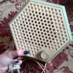 Radyo alıcısı 1986g. Hoparlör abonesi