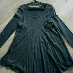 Платье-туника свободное