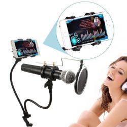 Spec. mikrofon, iPhone vb. için stand