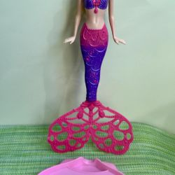 Barbie Mermaid Doll with Soap Bubbles