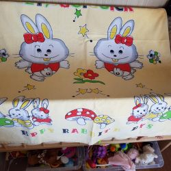 New double bed sheet / towel