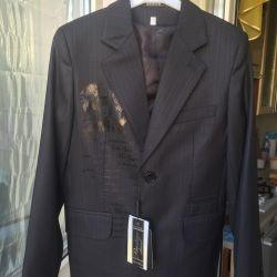 Ceket ve yelek yeni + hediye pantolon