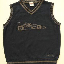 Waistcoat for boy s. Oliver