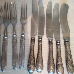 вилки, ножи СССР