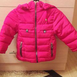 Kız için ceket.