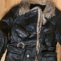 Genuine Leather Winter JacketTurkey