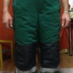 Men's winter suit