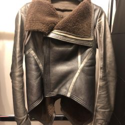 Very cool Rick Owens sheepskin jacket