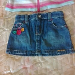 The coolest little skirt for a little lady