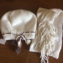 Bir eşarp ile yeni şapka